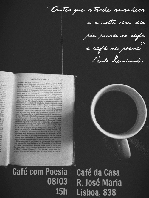 Cafe com Poesia 8mar14
